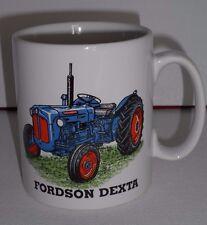 BN Fordson Dexta Vintage traktor steingut becher groß geschenk, 1/2 pint