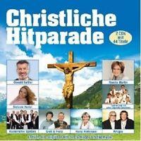 CHRISTLICHE HITPARADE 2 CD DIE AMIGOS OSWALD SATTLER HANSI HINTERSEER+++NEU