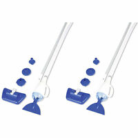Bestway AquaCrawl Above Ground Swimming Pool Maintenance Vacuum Cleaner (2 Pack)