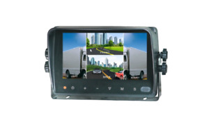 """BOYO VTM7003QMA : 7"""" Quad Monitor with Touch Screen and waterproof"""