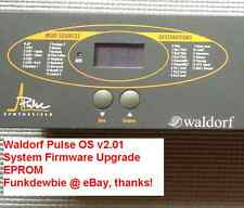 Waldorf Pulse OS 2.01 EPROM Firmware Upgrade KIT / New ROM Final Update Chips