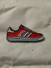 Adidas Munchen Trainer Pin Badge Casual Ultras Away Days 3 Stripes Sneakers