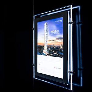 LED Window Light Pocket Illuminated Light Panel Estate Agent Display A4 A3 A2 A1