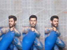 "Painted Service 1/12 Scale Thor Odinson Avengers Head Sculpt 6"" Figure SHF ML"