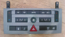 PEUGEOT 407 04-08 HEATER CONTROL UNIT PANEL HAZARD SWITCH 96573322