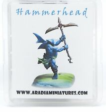 Aradia Hammerhead (1) Miniature Sharkman Warrior Ocean Champion Shark-Man Hero