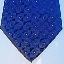 Calvin Klein  Lovely midnight blue colour & classy pattern all silk tie