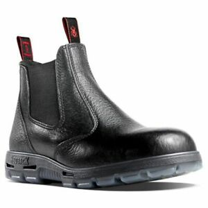 Redback Bobcat Safety Toe - Black USBBL - FREE POST- AUS MADE - SHIPPING ORDERS