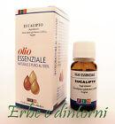 EUCALIPTO Olio essenziale alimentare 10 ml con contagocce - Bronchite, catarro
