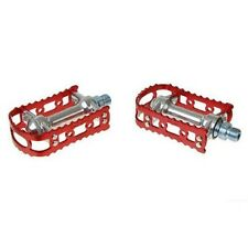 "MKS BM-7 MTB Bike Alloy Pedals 9/16""- Red"