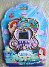 DISNEY THE LITTLE MERMAID ARIEL HANDHELD GAME CONSOLE SUPER RARE NEW IN PACK