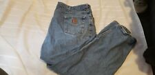 Carhartt Denim Jeans Traditional Fit Sz 50 X 32 Good Condition