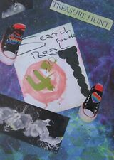 Mixed Media Collage Abstract Folk Outsider Naive Modern Autism Pop Art Brut