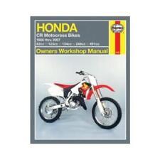 Haynes Motorcycle Repair Manual for Honda CR 250 R 1986-2001