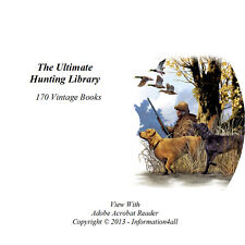 170 Books on DVD – Ultimate Library on Hunting, Shooting, Survival, Hunt, Hunter