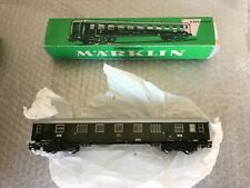 VINTAGE#Marklin 4044 Express Luggage Van With Tail Lights#BOXED