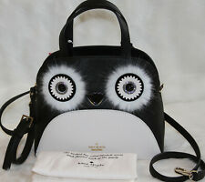 Kate Spade Penguin Small Lottie Satchel Dashing Beauty Handbag Purse Bag $348