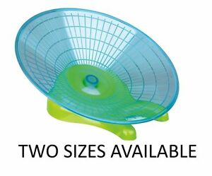 New Trixie Running Disc Mice Hamster  Rat Flying  Saucer Exercise Wheel 2 Sizes