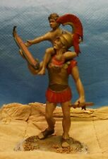 Series 77 Greeks 500 - 300 b.c. 9/4 Warrior with son, toy boat ( Loc = F2)