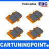 EBC Brake Pads Front Orange Fabric for Volvo V70 (2) - DP91210