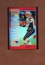 * TOM BRADY * 2005 BOWMAN CHROME RED REFRACTOR # 8 GOAT!