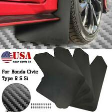 Rally Racing Splash Guards For Honda Civic Type R Si S Mud Flaps Mudguards Hatch
