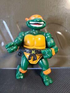 TMNT Teenage Mutant Ninja Turtles Action Figure City Sewer Michaelangelo 1991