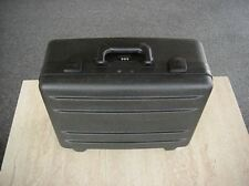 WINE CARRIER 7 BOTTLE HDPE POLY MOLDED CASE by PORTER CASES DURABLE 3 LOCKS FOAM