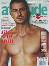 Attitude Magazine #239 1/2014 gay men THE SEX ISSUE ASHLEY TAYLOR DAWSON