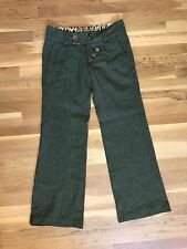 Miss Sixty Career Wool Dress Blend Pants Size 27 Made in Italy