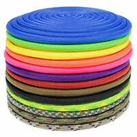 PARACORD PLANET 425RB Nylon Fiber 3mm Diameter Tactical Utility Cord in Multiple Colors