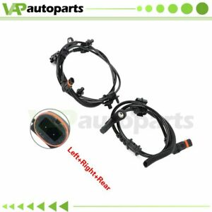 For Dodge Charger 2006 07-10 Pair 2 Rear ABS Wheel Speed Sensor Left And Right