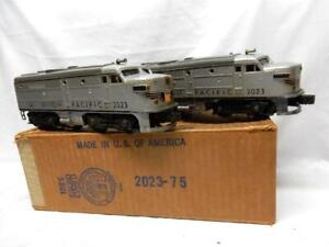 POSTWAR LIONEL 2023  UNION PACIFIC ALCO  AA DIESELS in OB, RUN GREAT, NO RSV!