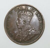 .1911 CANADA ONE CENT. SUPERB HIGH GRADE 8 PEARLS & FULL CENTRE CROWN.