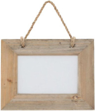 Natural Driftwood Single Hanging Landscape Photo Picture Frame 6 X 4