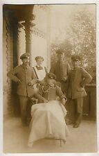 NEURUPPIN Verwundete Soldaten Rotes Kreuz Vereinslazarett * Foto-AK u 1915