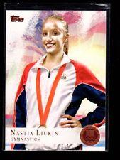 NASTIA LIUKIN - 2012 OLYMPICS GYMNASTICS - BRONZE MEDAL - TOPPS #43