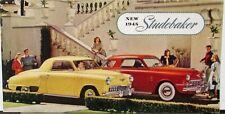 1948 Studebaker Champion Commander  Land Cruiser Sale Brochure Folder Original