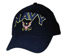 U.S. NAVY Hat / USN Dark Navy Baseball Cap 6471