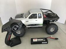 Axial SCX10 Honcho Truggy Rtr With Lipo Battery Aluminum Wheels Swampers