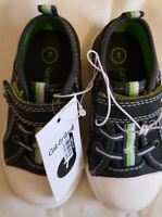 Cat & Jack Little Boys Size 10 Wilburn Navy and Green Trim