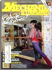 Mechanix Illustrated - 1984, March - Home Exercise Room, Stationary Bike Stand