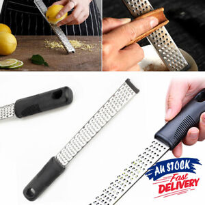 Lemon Nutmeg Microplane Tool Slicer Cheese Grater Stainless Steel Hand Zester