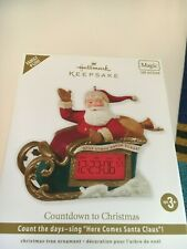 "2012  Hallmark Ornament ""COUNTDOWN TO CHRISTMAS    ""  NIB"