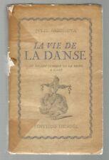 1937 La Vie De la Danse, Ballet dance book Sazonova, preface by Jean Cocteau