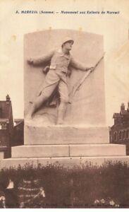80 Moreuil #22460 Monuments Aux Dead