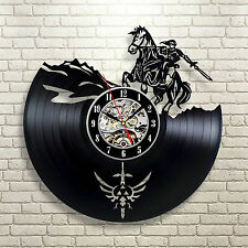 The Legend Of Zelda_Exclusive wall clock made of vinyl record_GIFT_DECOR