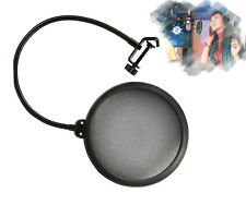 Record Studio Double Layer Microphone Mic Windscreen Pop Filter Mask Shield
