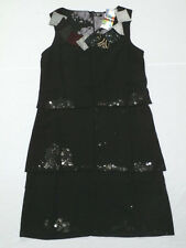 Desigual Women's Vest Patron Dress in Black 26V2085 Size 36 / US 6 NWT $139