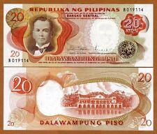 Philippines, 20 Piso ND (1969) P-145 (145b), UNC
